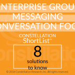 Constellation Short List group messaging 10/16